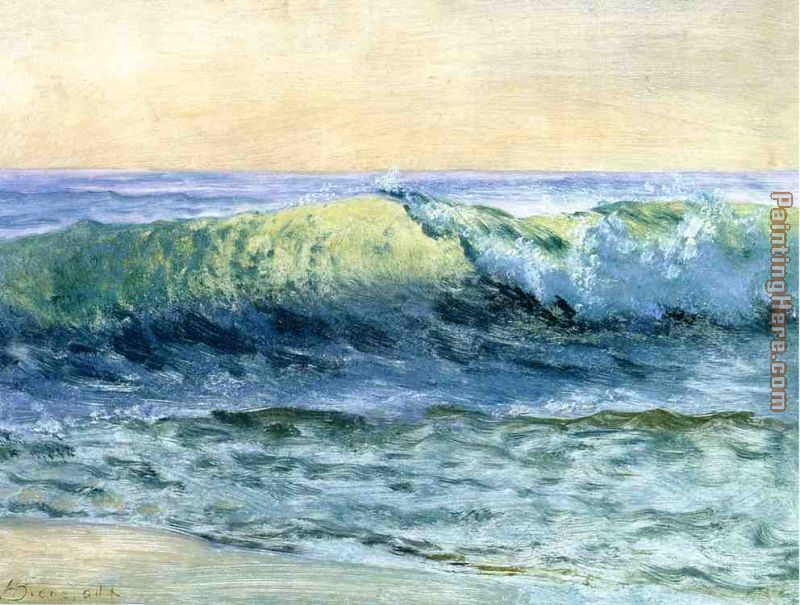 The Wave painting - Albert Bierstadt The Wave art painting