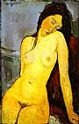 the Seated Nude by Amedeo Modigliani