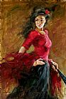 The Fan Dancer by Andrew Atroshenko