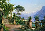 lodge on lake como 2 by Carl Fredrik Aagard
