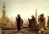 Prayer in Cairo by Jean-Leon Gerome