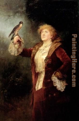 Ellen Terry as Lucy Ashton painting - John Collier Ellen Terry as Lucy Ashton art painting