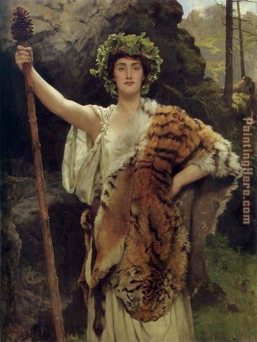 John Collier The Priestess of Bacchus Art Painting