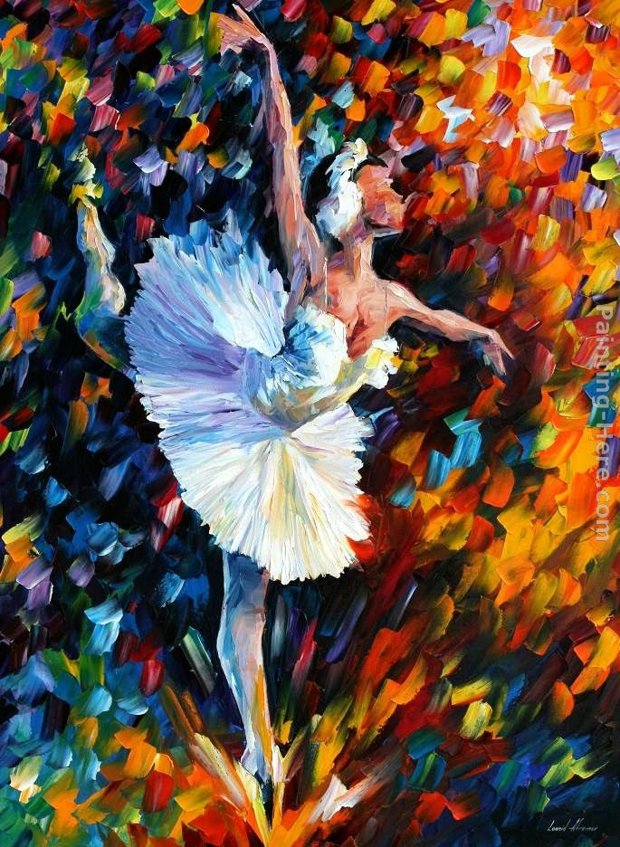 DANCE OF THE SOUL painting - Leonid Afremov DANCE OF THE SOUL art painting