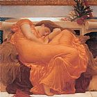 Leighton Flaming June by Lord Frederick Leighton