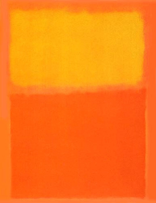 Orange and Yellow painting - Mark Rothko Orange and Yellow art painting