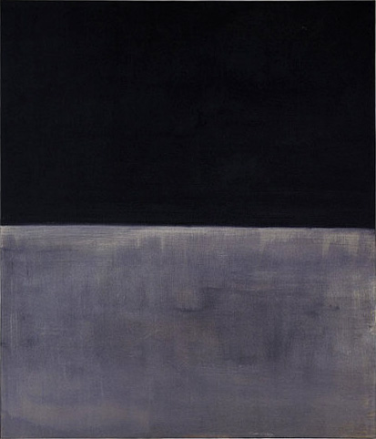 Mark Rothko Untitled Black on Gray Art Painting
