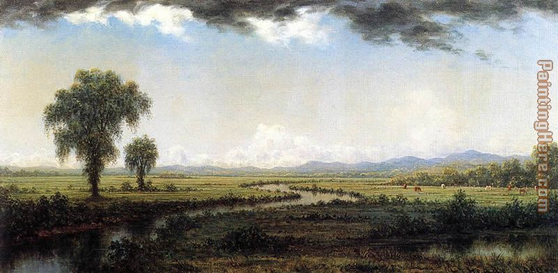 Storm Clouds over the New Jersey Marshes painting - Martin Johnson Heade Storm Clouds over the New Jersey Marshes art painting