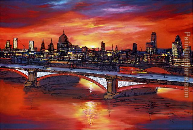 Paul Kenton At Dawn Art Painting