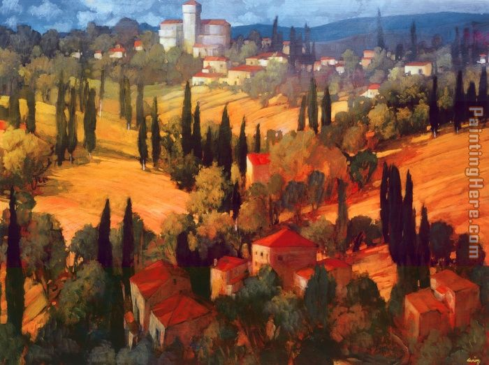 Philip Craig Tuscan Castle Art Painting