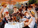 The Boating Party Lunch I by Pierre Auguste Renoir