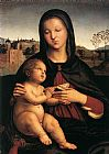 Madonna and Child with Book by Raphael