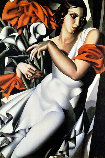 Tamara de Lempicka Portrait of Ira Art Painting