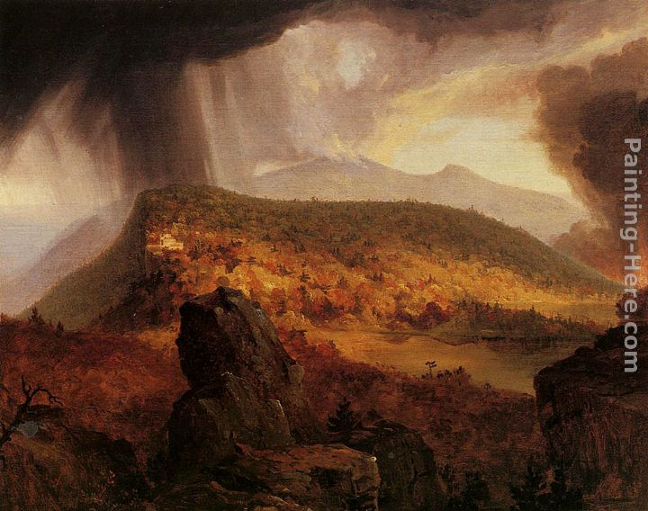 Thomas Cole Catskill Mountain House The Four Elements Art Painting