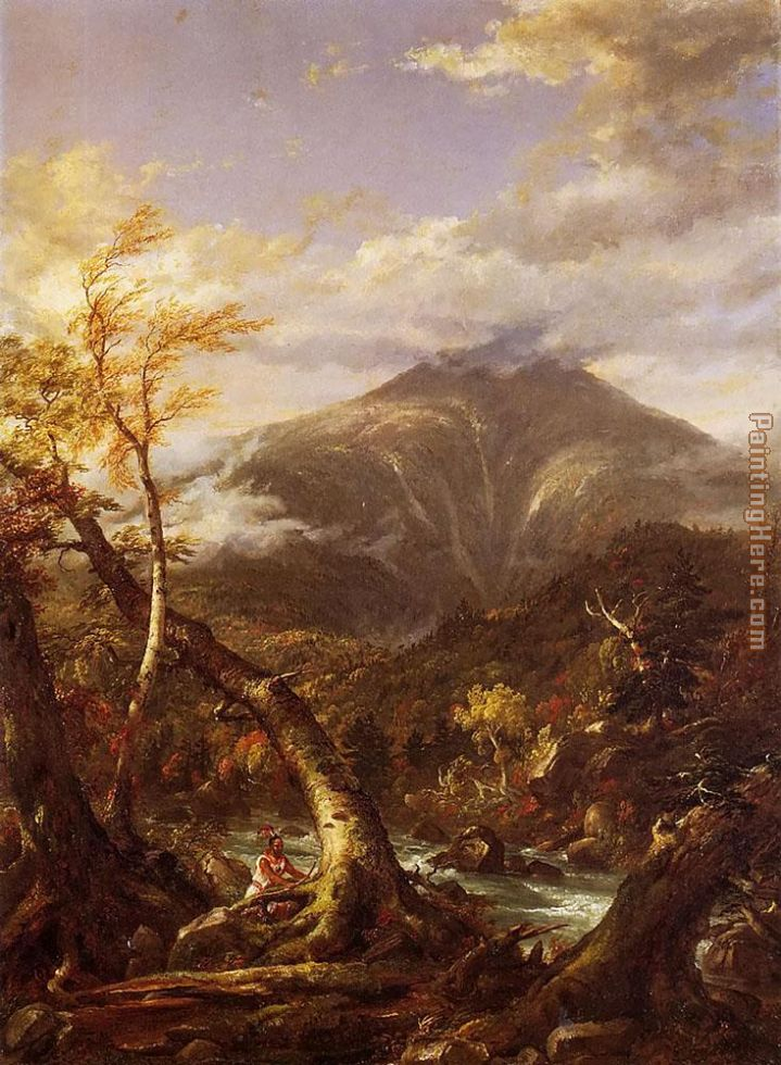 Thomas Cole Indian Pass Tahawus Art Painting