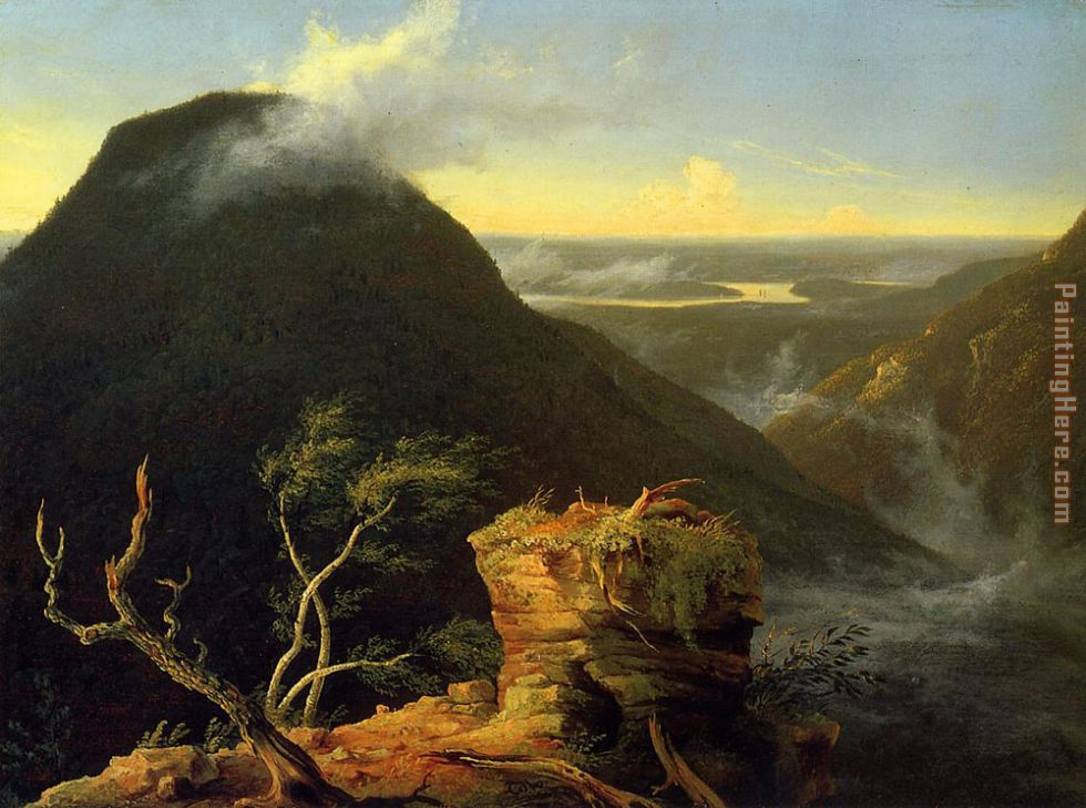 Sunny Morning on the Hudson River painting - Thomas Cole Sunny Morning on the Hudson River art painting