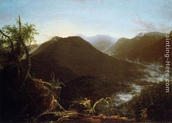 Sunrise in the Catskill Mountains painting - Thomas Cole Sunrise in the Catskill Mountains art painting