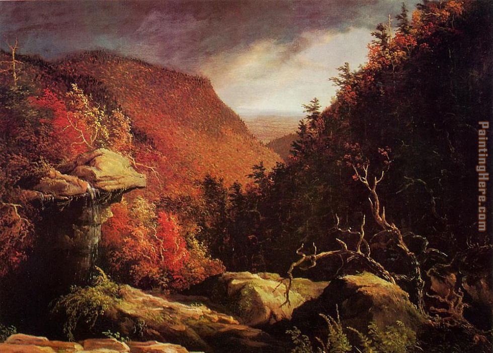 Thomas Cole The Clove Catskills I Art Painting