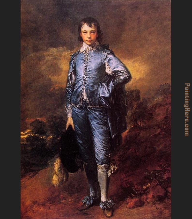 The Blue Boy painting - Thomas Gainsborough The Blue Boy art painting