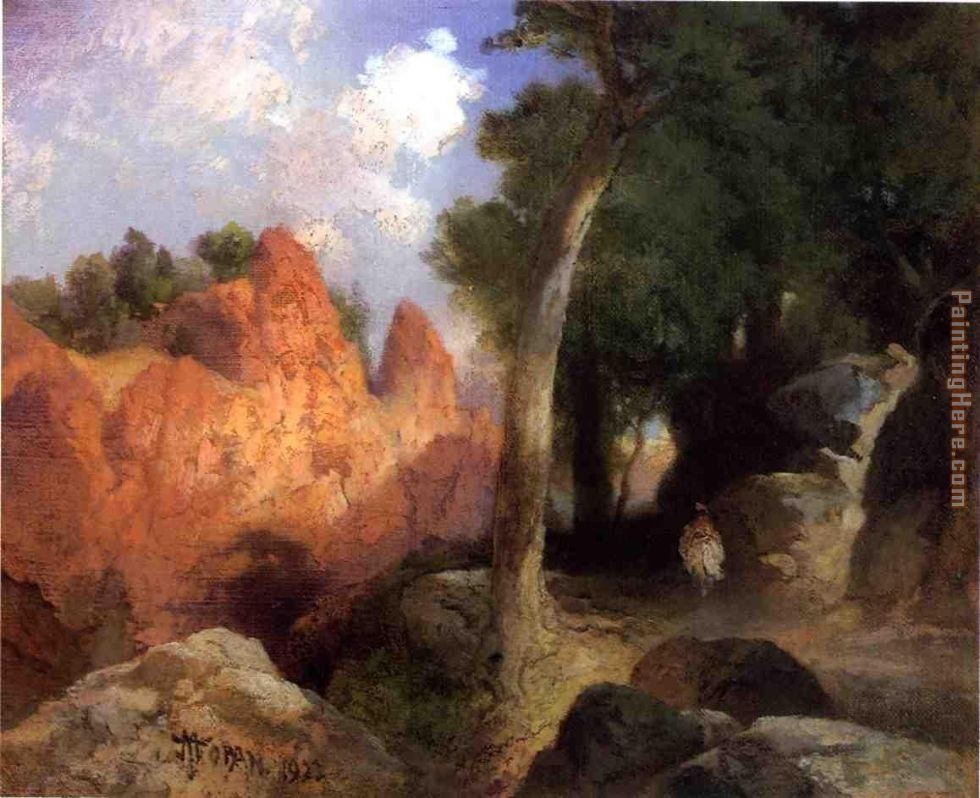 Canyon of the Clouds painting - Thomas Moran Canyon of the Clouds art painting