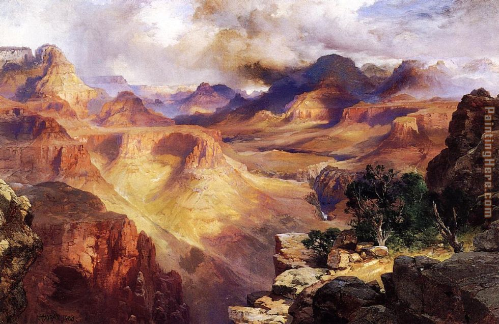 Grand Canyon 2 painting - Thomas Moran Grand Canyon 2 art painting