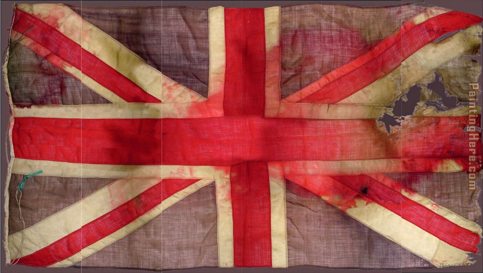 Unknown Artist vivienne westwood union jack flag Art Painting