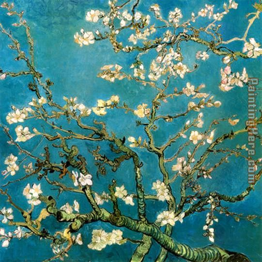Almond Branches in Bloom 1 painting - Vincent van Gogh Almond Branches in Bloom 1 art painting