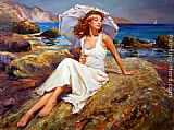 By the Seaside by Vladimir Volegov