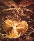 The Great Red Dragon and the Woman Clothed with Sun by William Blake