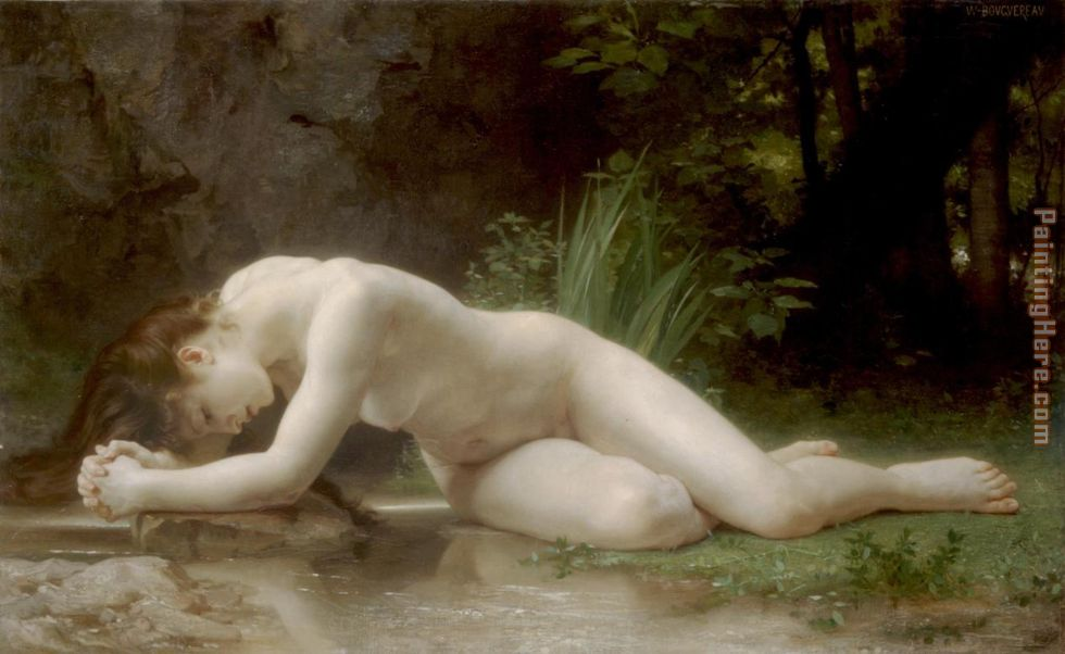 William Bouguereau Biblis Art Painting