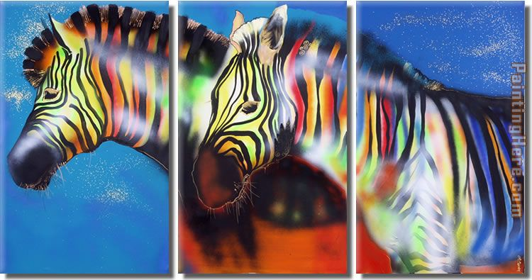 Animal 8122 Stretched Canvas Painting