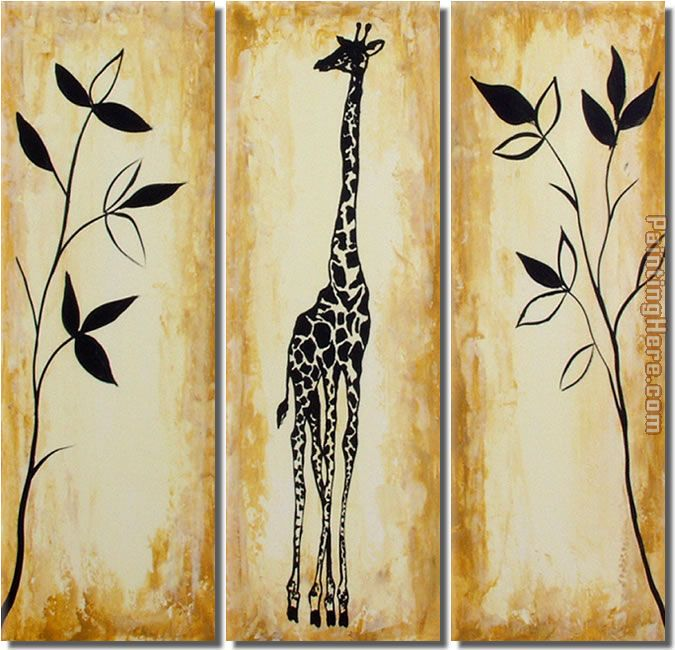 Animal 8151 Stretched Canvas Painting