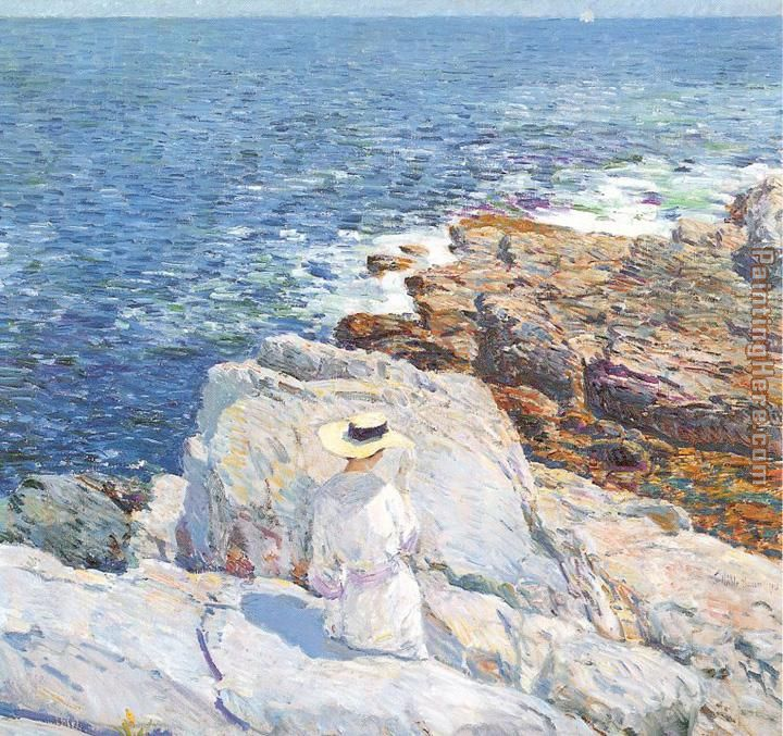 The South Ledges Appledore painting - childe hassam The South Ledges Appledore art painting