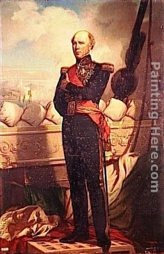 Charles Baudin, Amiral de France painting - Charles Zacharie Landelle Charles Baudin, Amiral de France art painting