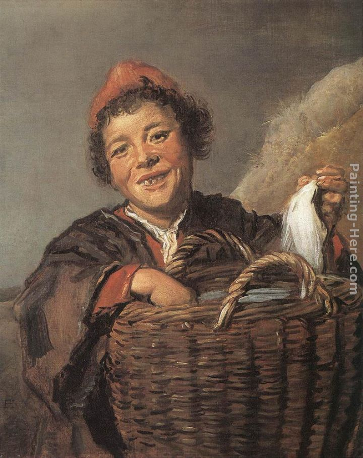 Fisher Boy painting - Frans Hals Fisher Boy art painting