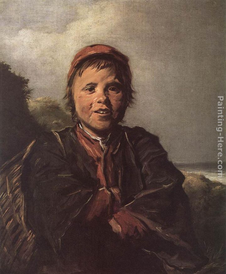 The Fisher Boy painting - Frans Hals The Fisher Boy art painting
