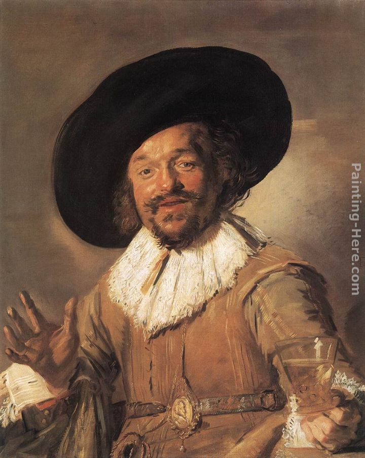 The Merry Drinker painting - Frans Hals The Merry Drinker art painting