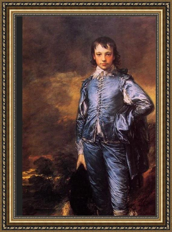 Thomas Gainsborough The Blue Boy Framed Painting