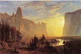Yosemite Valley Yellowstone Park by Albert Bierstadt