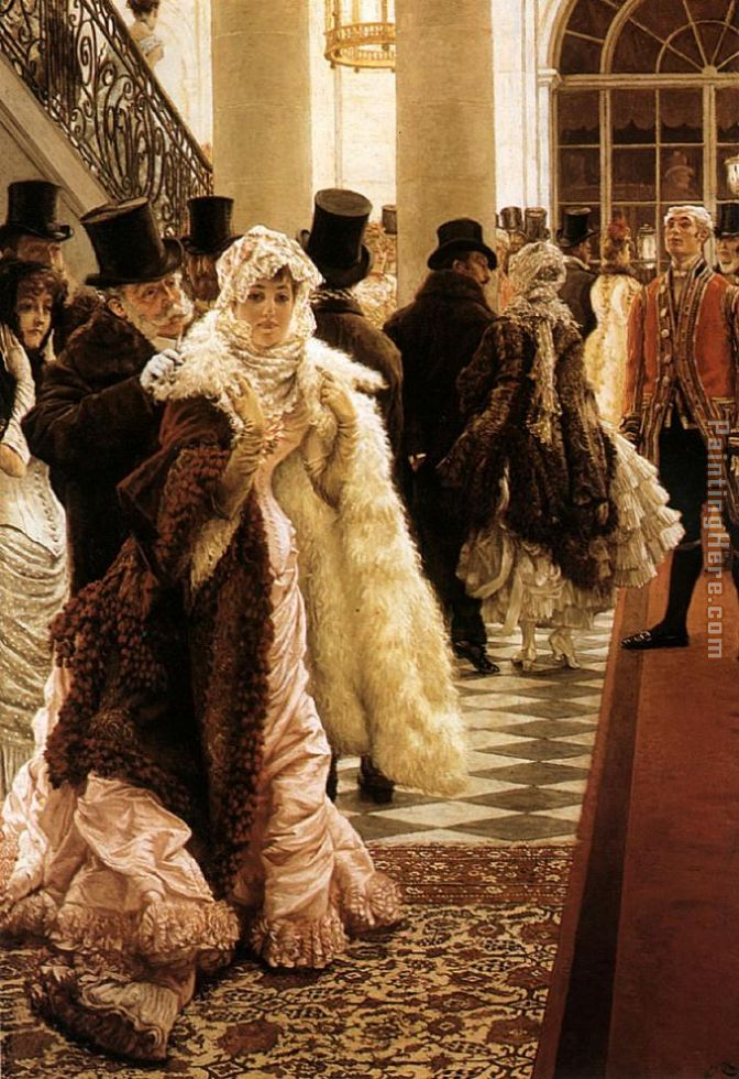 James Jacques Joseph Tissot The Woman of Fashion Art Painting