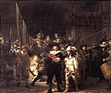 Rembrandt night watch by Rembrandt